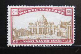 Poštovní známka Itálie 1924 Bazilika svatého Petra Mi# 209 Kat 9€