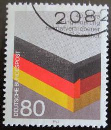 Poštovní známka Nìmecko 1985 Reintegrace uprchlíkù Mi# 1265