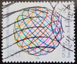 Poštovní známka Nìmecko 1990 Unie telekomunikací Mi# 1464