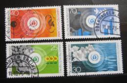 Poštovní známky Nìmecko 1973 Ochrana životního prostøedí Mi# 774-77