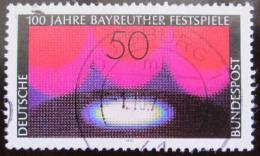 Poštovní známka Nìmecko 1976 Festival, Bayreuth Mi# 896