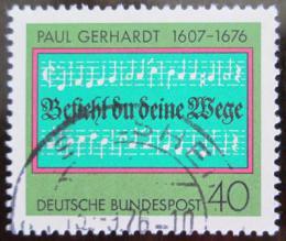 Poštovní známka Nìmecko 1976 Luteránská hymna Mi# 893