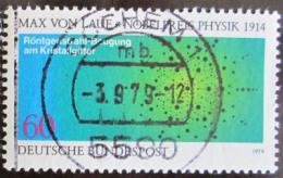 Poštovní známka Nìmecko 1979 Atomy v krystalech Mi# 1021