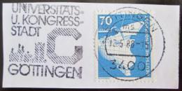 Poštovní známka Nìmecko 1975 Stavba lodí Mi# 852