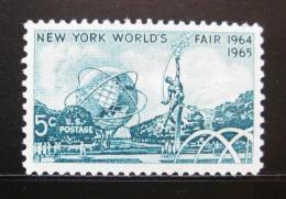 Poštovní známka USA 1964 Svìtová výstava New York Mi# 857