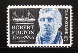 Poštovní známka USA 1965 Robert Fulton Mi# 886