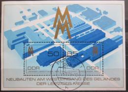 Poštovní známky DDR 1989 Lipský veletrh Mi# Block 99