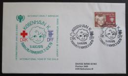 FDC Dánsko 1979 Mezinárodní rok dìtí Mi# 676
