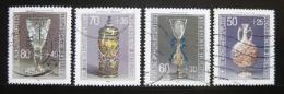 Poštovní známky Nìmecko 1986 Výrobky ze skla Mi# 1295-98