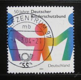 Poštovní známka Nìmecko 2003 Ochrana dìtí Mi# 2333