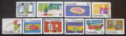 Poštovní známky Kanada 1970 Vánoce, dìtské kresby