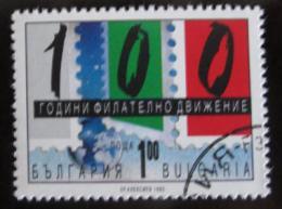 Poštovní známka Bulharsko 1993 Organizovaná filatelie, 100. výroèí Mi# 4080