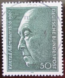 Poštovní známka Nìmecko 1976 Konrad Adenauer Mi# 876