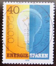 Poštovní známka Nìmecko 1979 Šetøení energiemi Mi# 1031