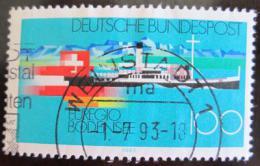Poštovní známka Nìmecko 1993 Jezero Constance Mi# 1678