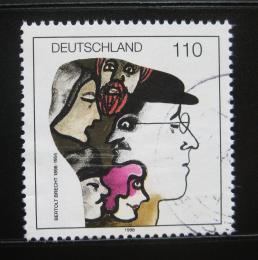 Poštovní známka Nìmecko 1998 Bertolt Brecht Mi# 1972