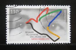 Poštovní známka Nìmecko 1998 Deklarace lidských práv Mi# 2026