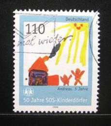 Poštovní známka Nìmecko 1999 SOS vesnièka Mi# 2062