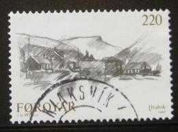 Poštovní známka Faerské ostrovy 1982 Hvalvik, Ingalvur Mi# 73
