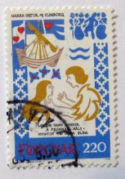 Poštovní známka Faerské ostrovy 1982 Støedovìká balada Mi# 75