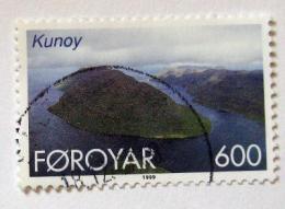 Poštovní známka Faerské ostrovy 1999 Ostrov Kunoy Mi# 360