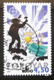 Poštovní známka Faerské ostrovy 2000 Køes�anství Mi# 368