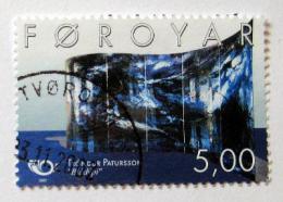 Poštovní známka Faerské ostrovy 2002 Umìní, Patursson Mi# 421