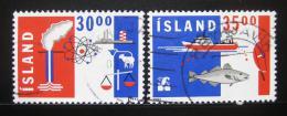 Poštovní známky Island 1992 Export a obchod Mi# 766-67