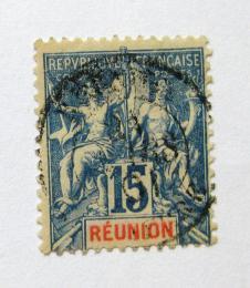 Poštovní známka Reunion 1892 Navigace a obchod Mi# 37