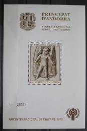 Poštovní známka Andorra Šp. 1979 Mezinárodní rok dìtí Mi# N/N