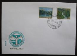 FDC Jugoslávie 1978 Pøírodní krásy Mi# 1741-42