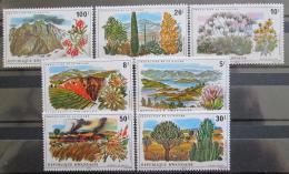 Poštovní známky Rwanda 1975 Ochrana pøírody Mi# 745-51