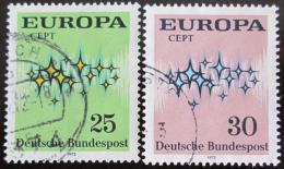Poštovní známky Nìmecko 1972 Evropa CEPT Mi# 716-17