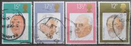 Poštovní známky Velká Británie 1980 Dirigenti Mi# 846-49