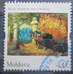 Poštovní známka Moldavsko 2017 Umìní, Alexandr Grigorasenco Mi# 1018