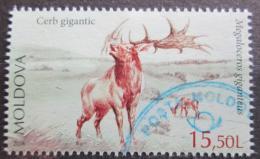 Poštovní známka Moldavsko 2016 Megaloceros giganteus Mi# 984 Kat 8€