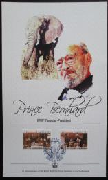 Pamìtní karta Gambie 2005 Princ Bernhard