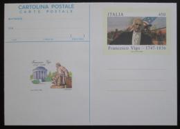 Korespondenèní lístek Itálie 1986 Francesco Vigo