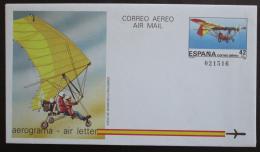 Aerogram Španìlsko 1985 Letecký dopis