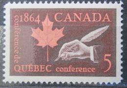 Poštovní známka Kanada 1964 Quebecká konference Mi# 377