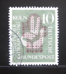 Poštovní známka Nìmecko 1956 Setkání nìmeckých katolikù Mi# 239