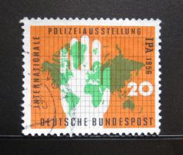 Poštovní známka Nìmecko 1956 Mezinárodní policejní výstava Mi# 240