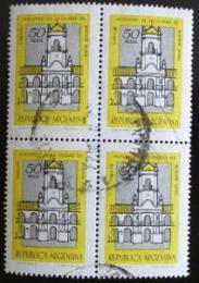 Poštovní známky Argentina 1977 Buenos Aires ètyøblok Mi# 1301