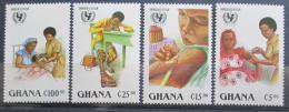 Poštovní známky Ghana 1988 Pomoc dìtem Mi# 1182-85