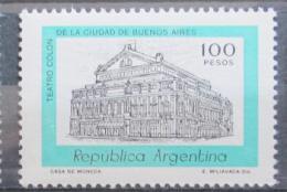 Poštovní známka Argentina 1981 Divadlo, Buenos Aires Mi# 1507
