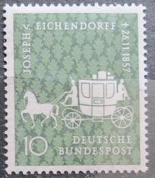 Poštovní známka Nìmecko 1957 Dostavník Mi# 280