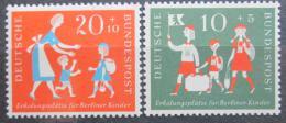 Poštovní známky Nìmecko 1957 Prázdniny Mi# 250-51 Kat 5€