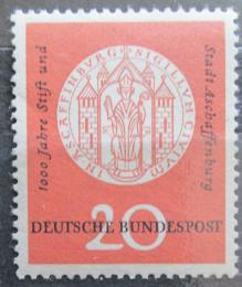 Poštovní známka Nìmecko 1957 Aschaffenburg milénium Mi# 255