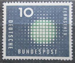Poštovní známka Nìmecko 1957 Televize Mi# 267