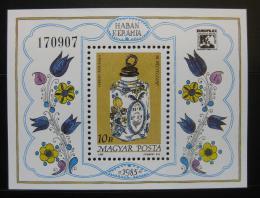 Poštovní známka Maïarsko 1985 Den známek Mi# Block 181